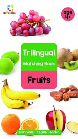 Opredo Trilingual Matching Book: Fruits