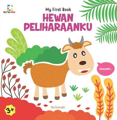 Opredo My First Book: Hewan Peliharaanku
