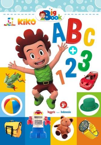 Opredo Big book: Mengenal ABC dan 123 bersama Kiko