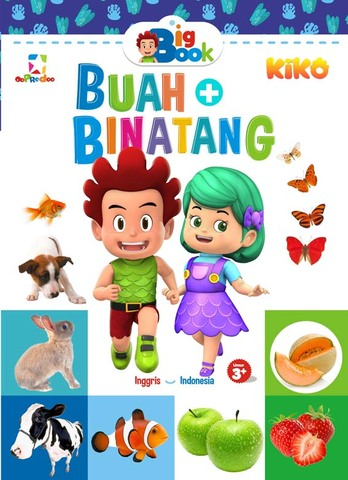 Opredo Big Book: Mengenal Buah dan Binatang bersama Kiko