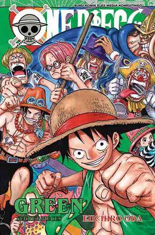 One Piece Green Secret Pieces Eiichiro Oda