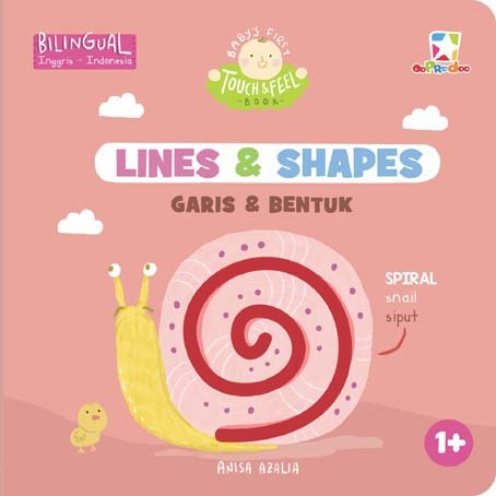 Opredo Baby`s First Touch & Feel Book: Lines & Shapes