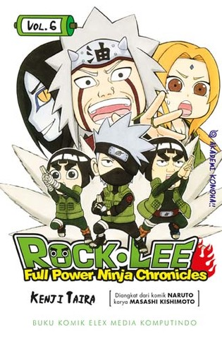 ROCK LEE - FULL POWER NINJA CHRONICLES 6 - AKADEMI KONOHA!
