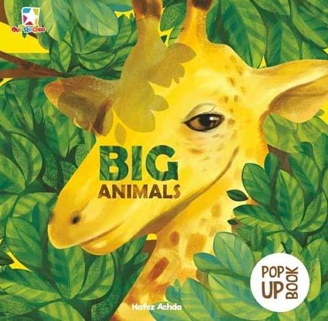 Opredo Pop Up Book: Big Animals