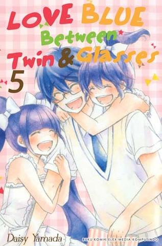 Love Blue Between Twin & Glasses 05