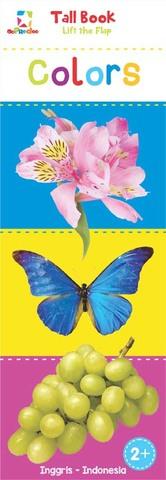 Opredo Tall Book Lift the Flap: Colors Tim Oopredoo