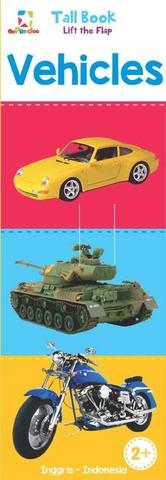Opredo Tall Book Lift the Flap: Vehicles