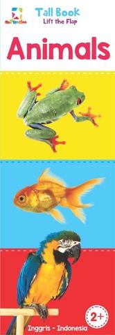 Opredo Tall Book Lift the Flap: Animals