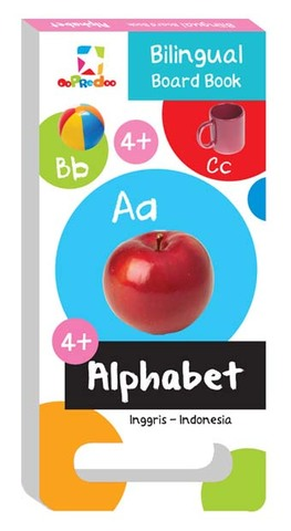 Opredo Bilingual Board Book - Alphabet