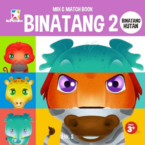 Mix & Match Book: Binatang 2