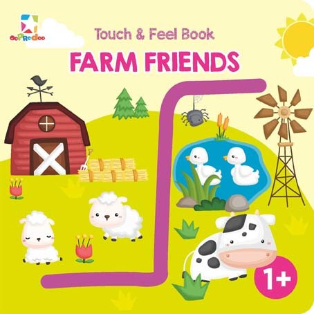 Opredo Touch & Feel: Farm Friends