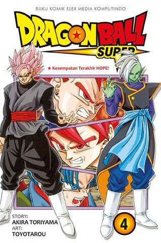 Dragon Ball Super Vol. 4 Akita Toriyama