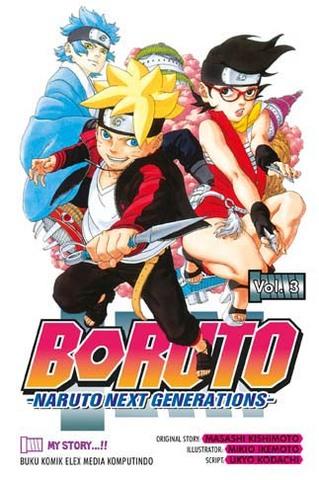 Boruto - Naruto Next Generation Vol. 3 Masashi Kishimoto