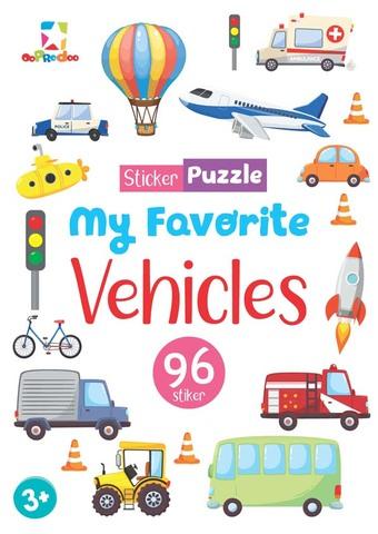 Opredo Sticker Puzzle - My Favorite Vehicles