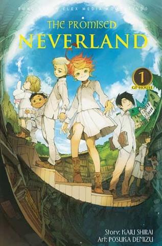 The Promised Neverland 1 Kaiu Shirai, Posuka Demizu
