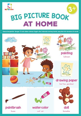Opredo Big Picture Book: At Home