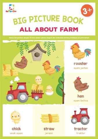 Opredo Big Picture Book: All About Farm