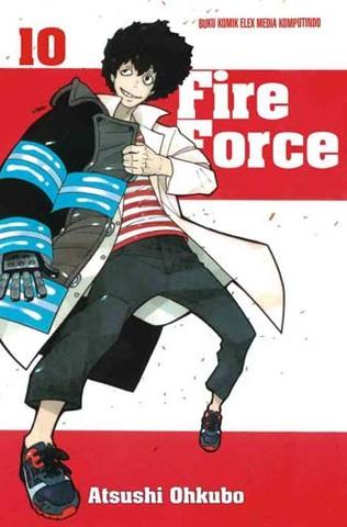 Fire force 10 Atsushi Ohkubo