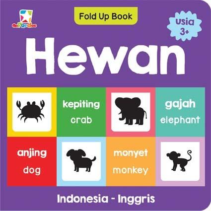 Opredo Fold Up Book: Hewan