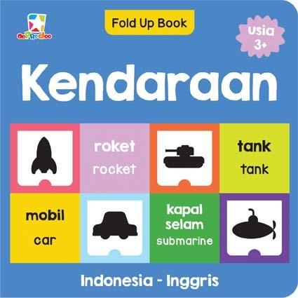 Opredo Fold Up Book: Kendaraan