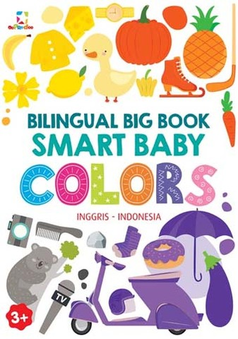 Opredo Bilingual Big Book: Smart Baby - Colors