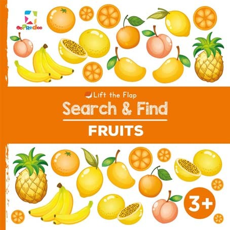 Opredo Lift the Flap Search & Find: Fruits