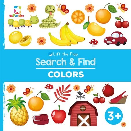 Opredo Lift the Flap Search & Find: Colors