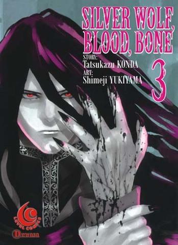 LC: Silver Wolf, Blood, Bone 03 Tatsukazu Konda, Shimeji Yukiyama