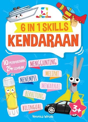Opredo 6 IN 1 Skills: Kendaraan