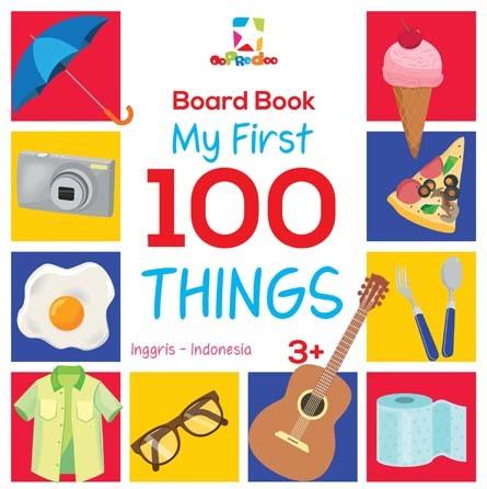 Opredo Board Book - My First 100 Things