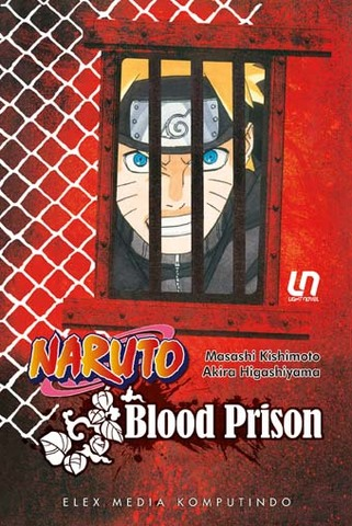 Light Novel Naruto: Blood Prison