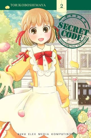Secret Code a Displeased Detective of Cipher  02 Torikoboshimaya