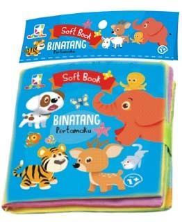Opredo Soft Book Binatang Pertamaku