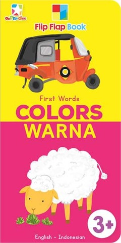 Opredo Flip Flap Book First Words: Colors