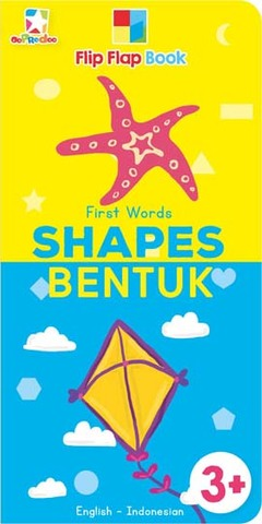 Opredo Flip Flap Book First Words: Shapes