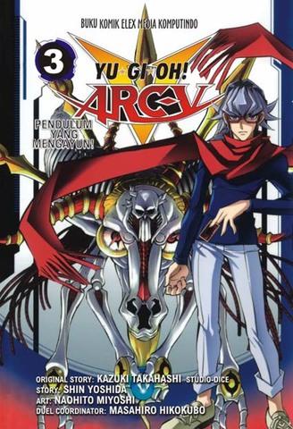 Yugioh Arc V 03 Naohito Miyoshi, Kazuki Takahashi