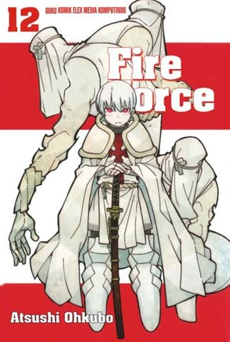 Fire Force 12 Atsushi Ohkubo