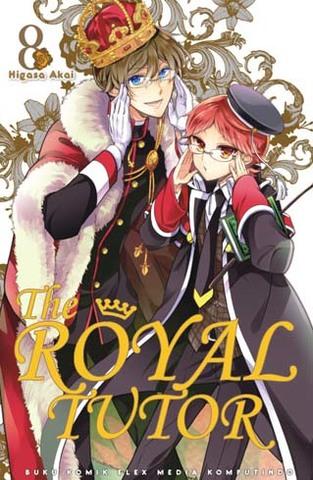 The Royal Tutor 8 Higasa Akai