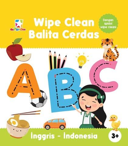 Opredo Wipe Clean Balita Cerdas: ABC