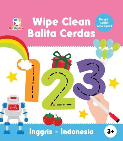Opredo Wipe Clean Balita Cerdas: 123