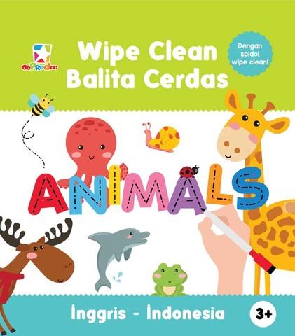 Opredo Wipe Clean Balita Cerdas: Animals