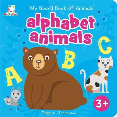 Opredo My Board Book of Animals: Alphabet Animals