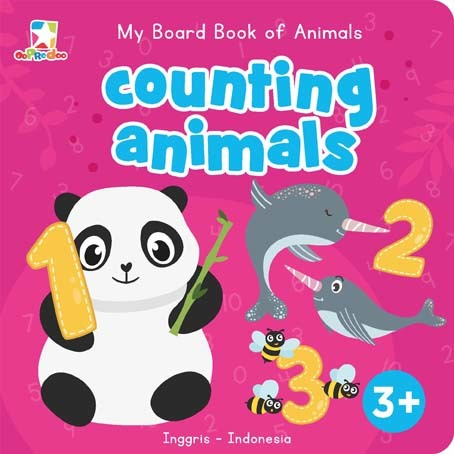 Opredo My Board Book of Animals: Counting Animals