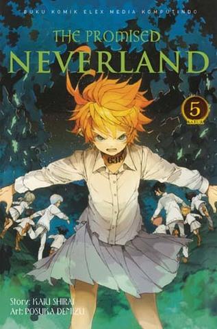 The Promised Neverland Volume 5 Elex