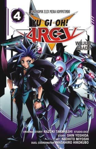 Yugioh Arc V 04 Naohito Miyoshi, Kazuki Takahashi
