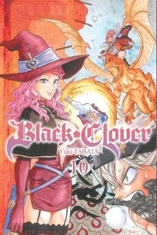 Black Clover 10 Yuki Tabata