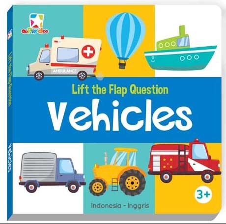Opredo Lift the Flap Question - Vehicles