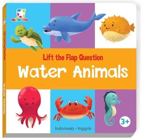 Opredo Lift the Flap Question - Water Animals