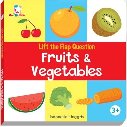 Opredo Lift The Flap Question - Fruits & Vegetables