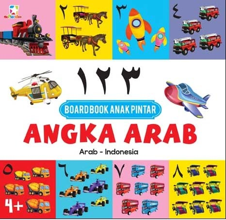 Opredo Board Book Anak Pintar: Angka Arab